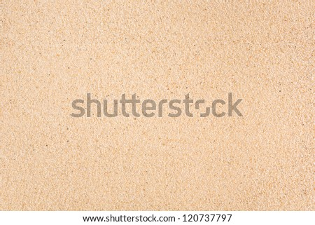 Sand used as a background - stock photo