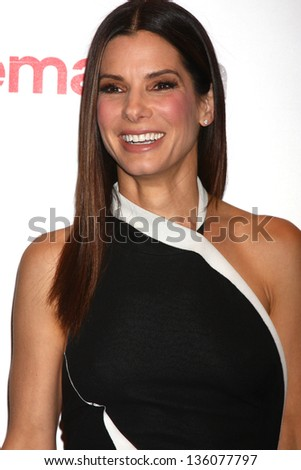 Sandra Bullock at the 20th Century Fox Press Event at CinemaCon 2013, Caesars Palace, Las Vegas, NV 04-18-13 - stock photo