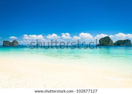 Sands of White Remote Resort - stock photo