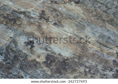 Sandstone Desert Rock Texture - Dark Grey and Yellow - stock photo