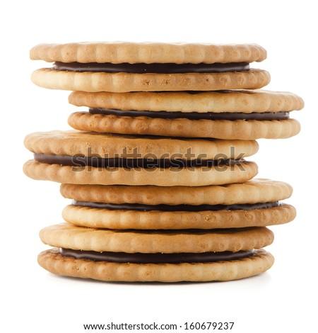 Round jam biscuit Stock Photos, Round jam biscuit Stock Photography ...