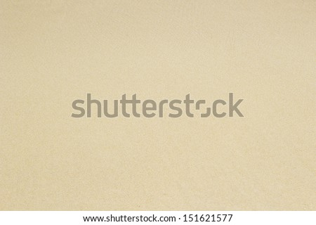 Sandy beach background. Detailed sand texture. Top view - stock photo