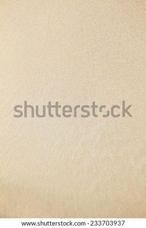Sandy surface  - stock photo