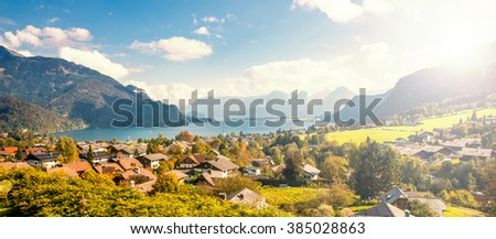Sankt Gilden, Salzkammergut, Austria  - stock photo