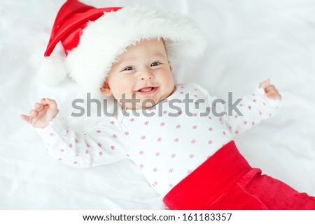 Santa baby - stock photo