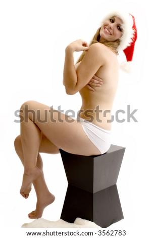 Santa Baby! - stock photo
