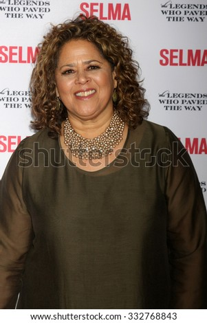"SANTA BARBARA - DEC 6:  Anna Deavere Smith at the ""Selma"" & Legends Who Paved the Way Gala at the Bacara Resort & Spa on December 6, 2014 in Goleta, CA - stock photo"