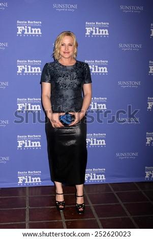SANTA BARBARA - FEB 5:  Patricia Arquette at the Santa Barbara International Film Festival - American Riviera Award at a Arlington Theater on February 5, 2015 in Santa Barbara, CA - stock photo