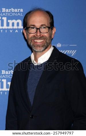 SANTA BARBARA - JAN 29:  Brian Huskey at the Santa Barbara International Film Festival - Cinema Vanguard Award at a Arlington Theater on January 29, 2015 in Santa Barbara, CA - stock photo