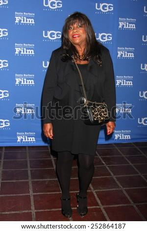 "SANTA BARBARA - JAN 27:  Chaz Ebert at the Santa Barbara International Film Festival - US Premiere of ""Desert Dancer"" at a Arlington Theater on January 27, 2015 in Santa Barbara, CA - stock photo"
