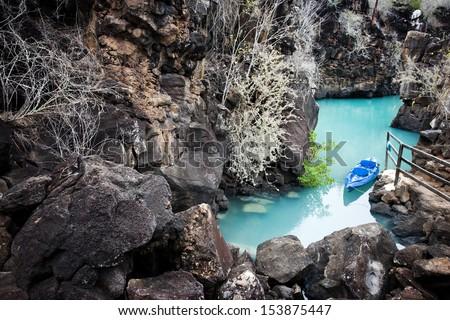 Santa Crus, Galapagos Islands, Ecuador - stock photo