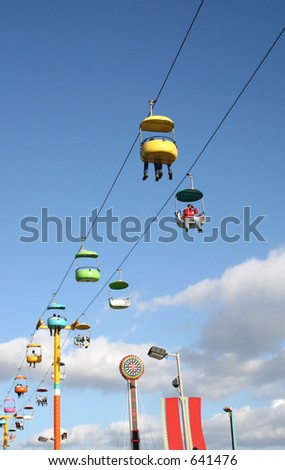 Santa Cruz Boardwalk - stock photo