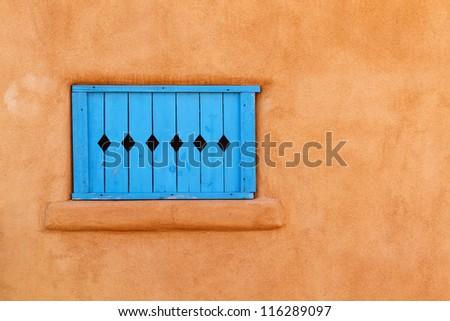 Santa Fe Window - stock photo