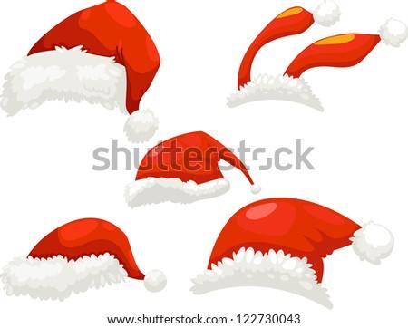 santa hat.jpg-(eps vector id 106671449) - stock photo
