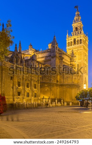 Santa Maria de la Sede Cathedral, Andalusia, Spain - stock photo