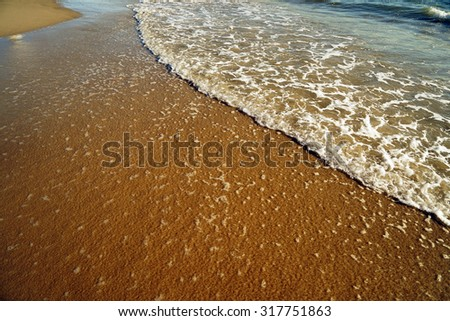 Santa Monica Beach            - stock photo