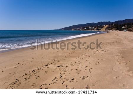 Santa Monica Beach, California, USA - stock photo