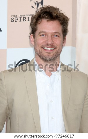 SANTA MONICA, CA - FEB 26: James Tupper at the 2011 Film Independent Spirit Awards at Santa Monica Beach on February 26, 2011 in Santa Monica, California - stock photo