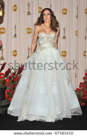 Sarah Jessica Parker at the 61st Annual Academy Awards at the Kodak Theatre, Hollywood. February 22, 2009 Los Angeles, CA Picture: Paul Smith / Featureflash - stock photo