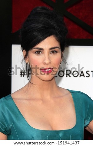 Sarah Silverman at the Comedy Central Roast Of James Franco, Culver Studios, Culver City, CA 08-25-13 - stock photo