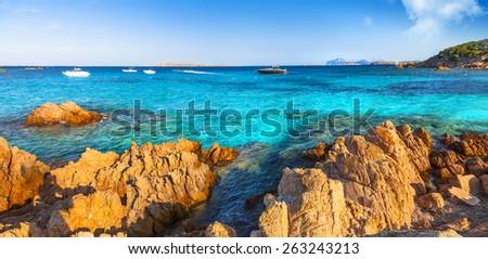 Sardegna holidays. Italy - stock photo
