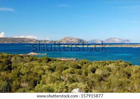 Sardinia - Porto San Paolo - stock photo