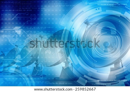 satellite dish of mobile phone - stock photo