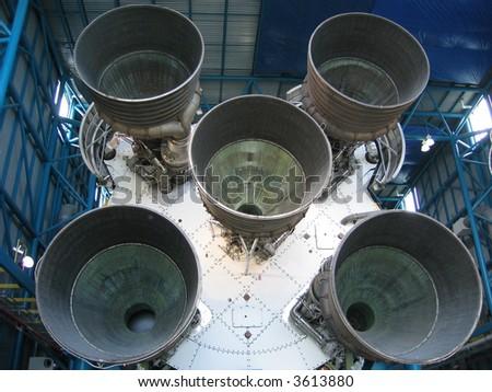 Saturn 5 - stock photo