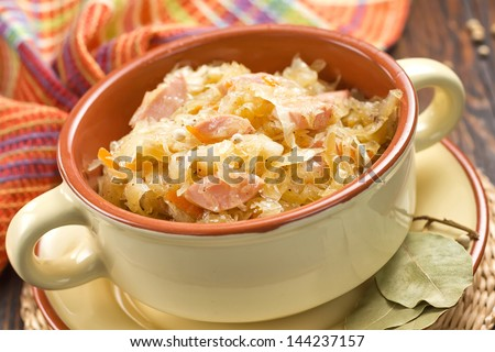 Sauerkraut - stock photo