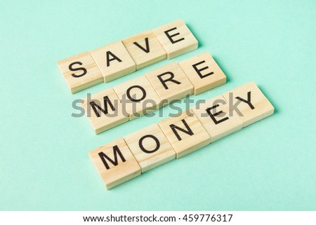 Save more maney. Succeed business success be a winner in business. Counting losses and profit analyzing financial statistics, green money background with copy space for ad text. - stock photo