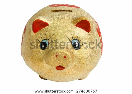 saving money as  piggy banks . - stock photo