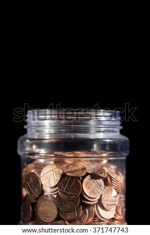 Savings Jar - stock photo