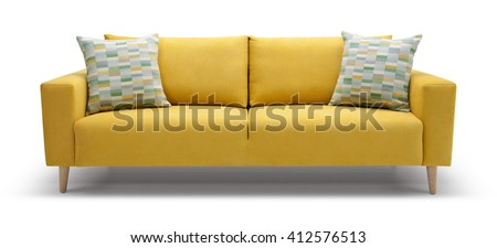 Scandinavian Sofa - stock photo