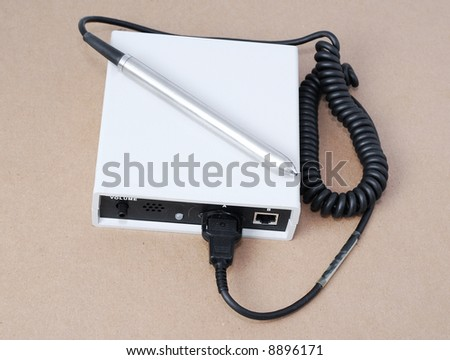 Scanning Wand - stock photo