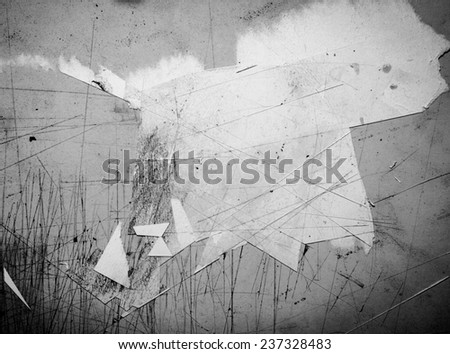 scatche boatd and paper texture  - stock photo