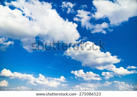 Scene Skies Blue  - stock photo