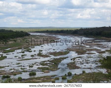 Scenic view. - stock photo
