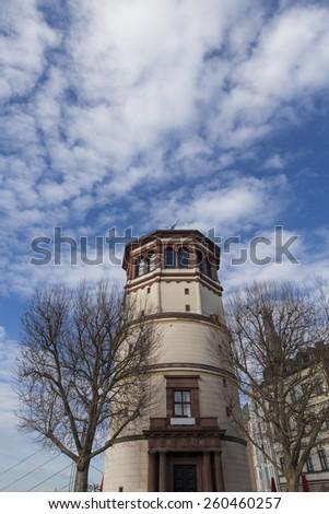 Schlossturm in Dusseldorf, Germany - stock photo