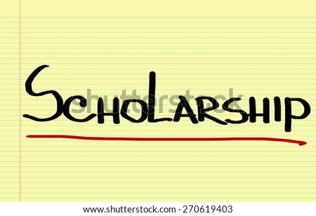 Scholarship Concept - stock photo