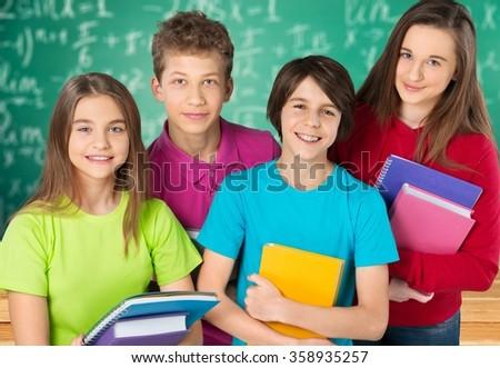School. - stock photo