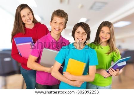 School, child, holiday. - stock photo