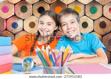 School, kid, student. - stock photo