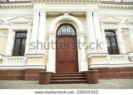 School of art building - stock photo