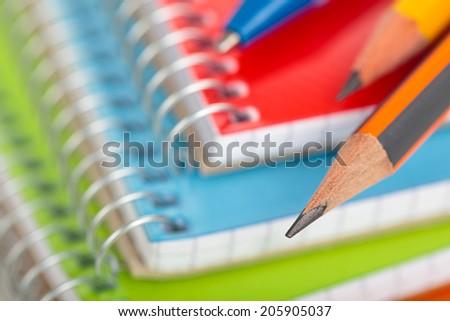 School supplies. - stock photo