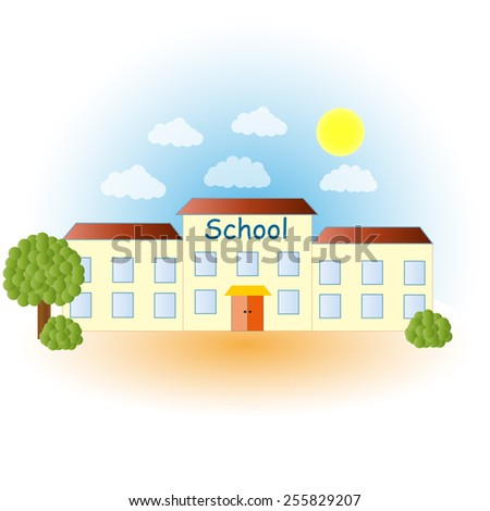 School. Welcome back to school. - stock photo