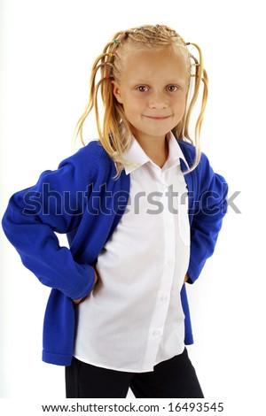 Schoolkid - stock photo