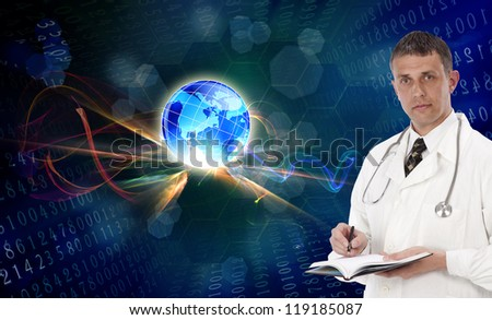 Scientific innovative genetics research - stock photo