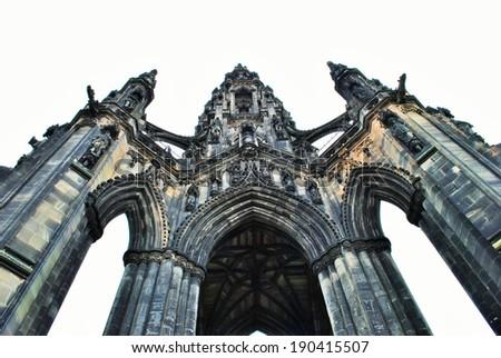 Scotland, Edinburgh - stock photo
