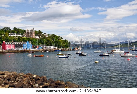 Scotland - Isle of Mull - Tobermory - stock photo