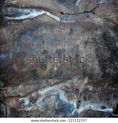 scratched grunge metal texture ; abstract background - stock photo